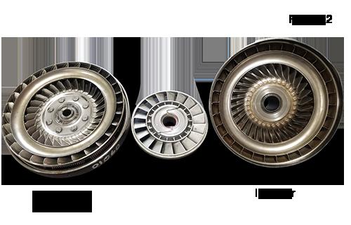 4L60 Torque Converter Turbine Components