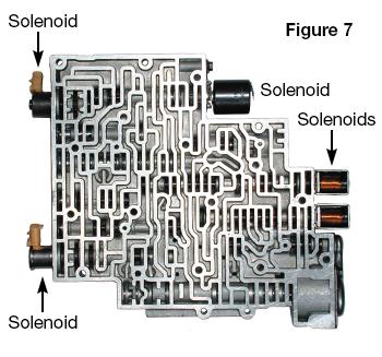 4L60-E Valve Body with Solenoids