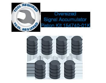 Sonnax Oversized Signal Accumulator Piston Kit