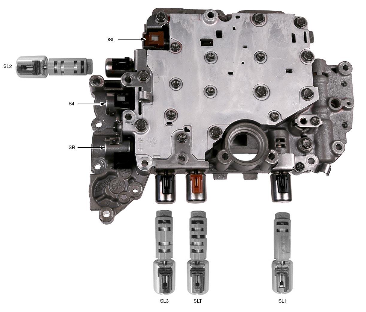 2013 Toyota Sienna Transmission: Sonnax Toyota/Lexus U151E, U151F, U250E Solenoid