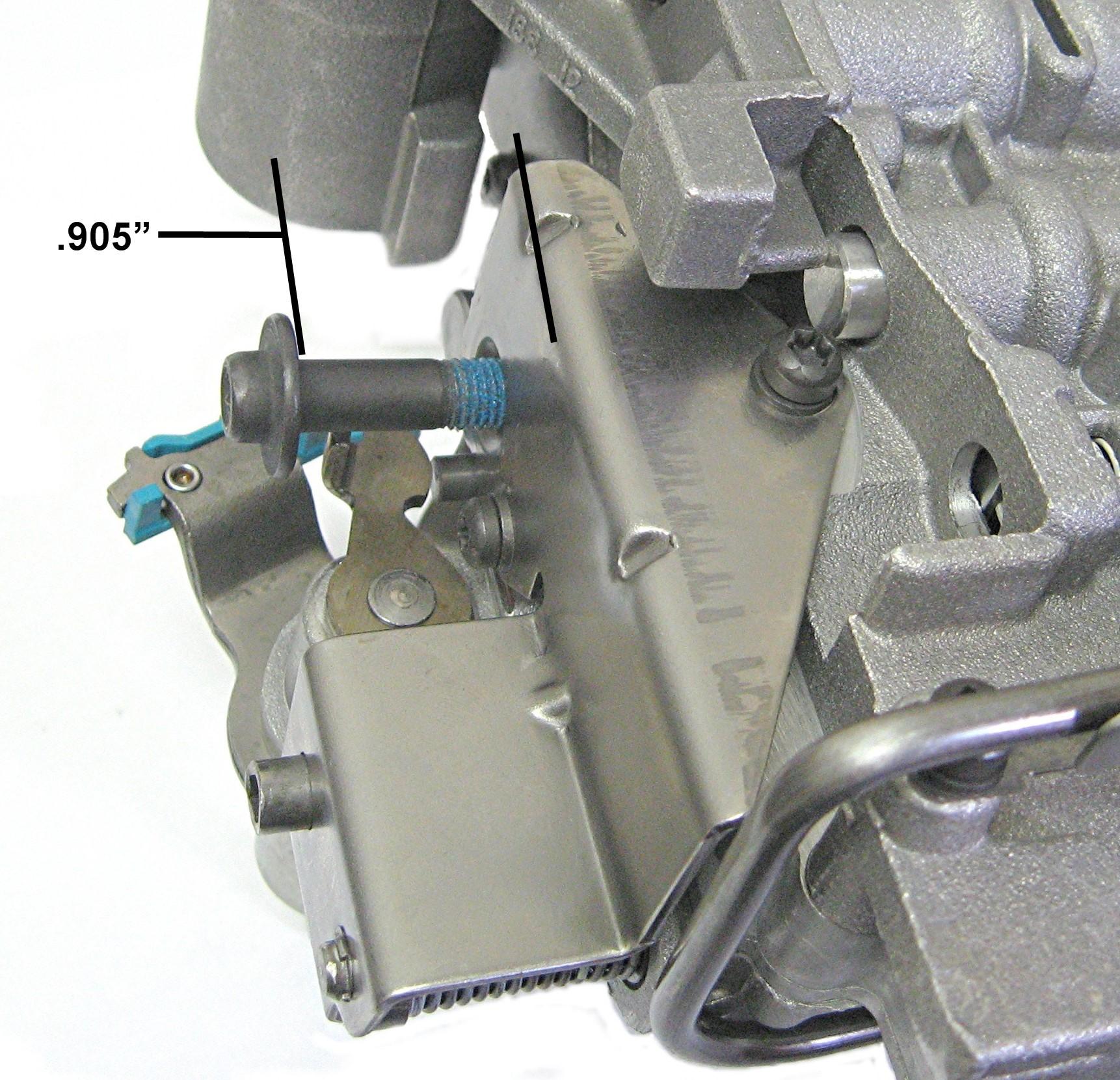 Sonnax 48RE Transmission Throttle Valve Actuator Codes