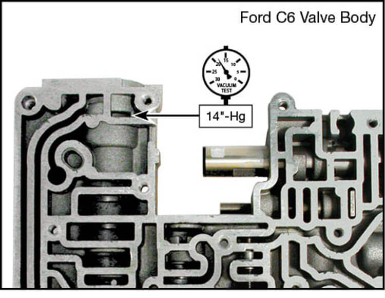 C6 Boost Valve Kit Vacuum Test Locations
