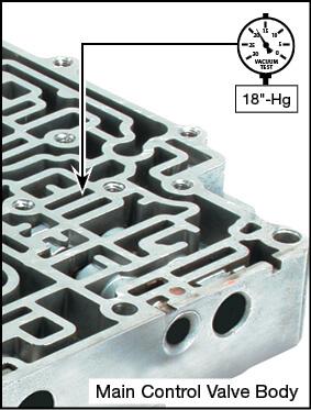 GF4A-EL Oversized Pressure Modifier Valve Vacuum Test Locations