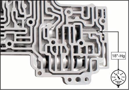 5R55S, 5R55W Boost Valve Kit Vacuum Test Locations