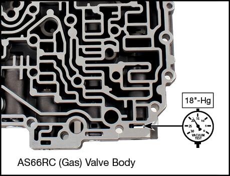 AS66RC Secondary Pressure Regulator Plunger Valve Kit Vacuum Test Locations