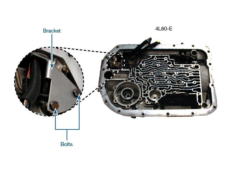 sonnax wiring harness connector bracket 34998 01k rh sonnax com Dodge Wiring Harness Automotive Wiring Harness