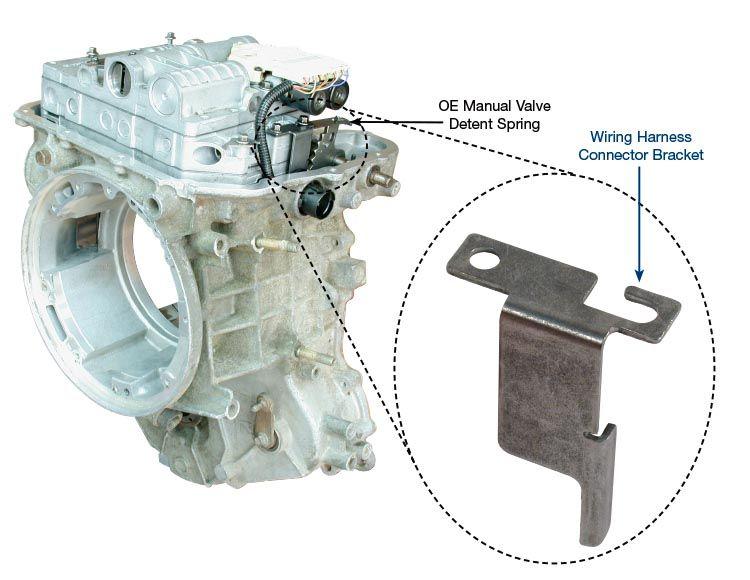 sonnax wiring harness connector bracket 73949 01 rh sonnax com Automotive Wiring Harness Wiring Harness Diagram