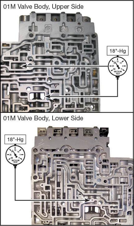 01M, 01N, 01P Oversized Main Pressure Regulator Valve Kit Vacuum Test Locations