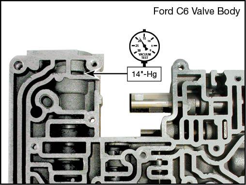 C6 Boost Valve  Kit Vacuum Test Locations