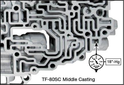TF-80SC, TF-81SC Boost Valve Kit Vacuum Test Locations