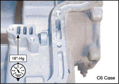 C6 Oversized Modulator Valve Kit Vacuum Test Locations