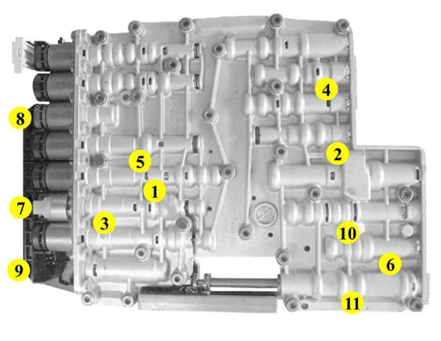 6R80 (2009-2014)  Torque Specs
