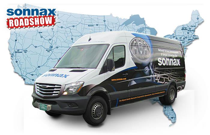 Sonnax tech van map