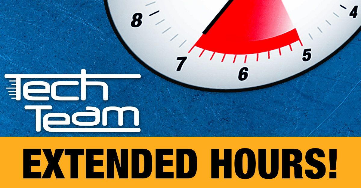 Extended tech hours