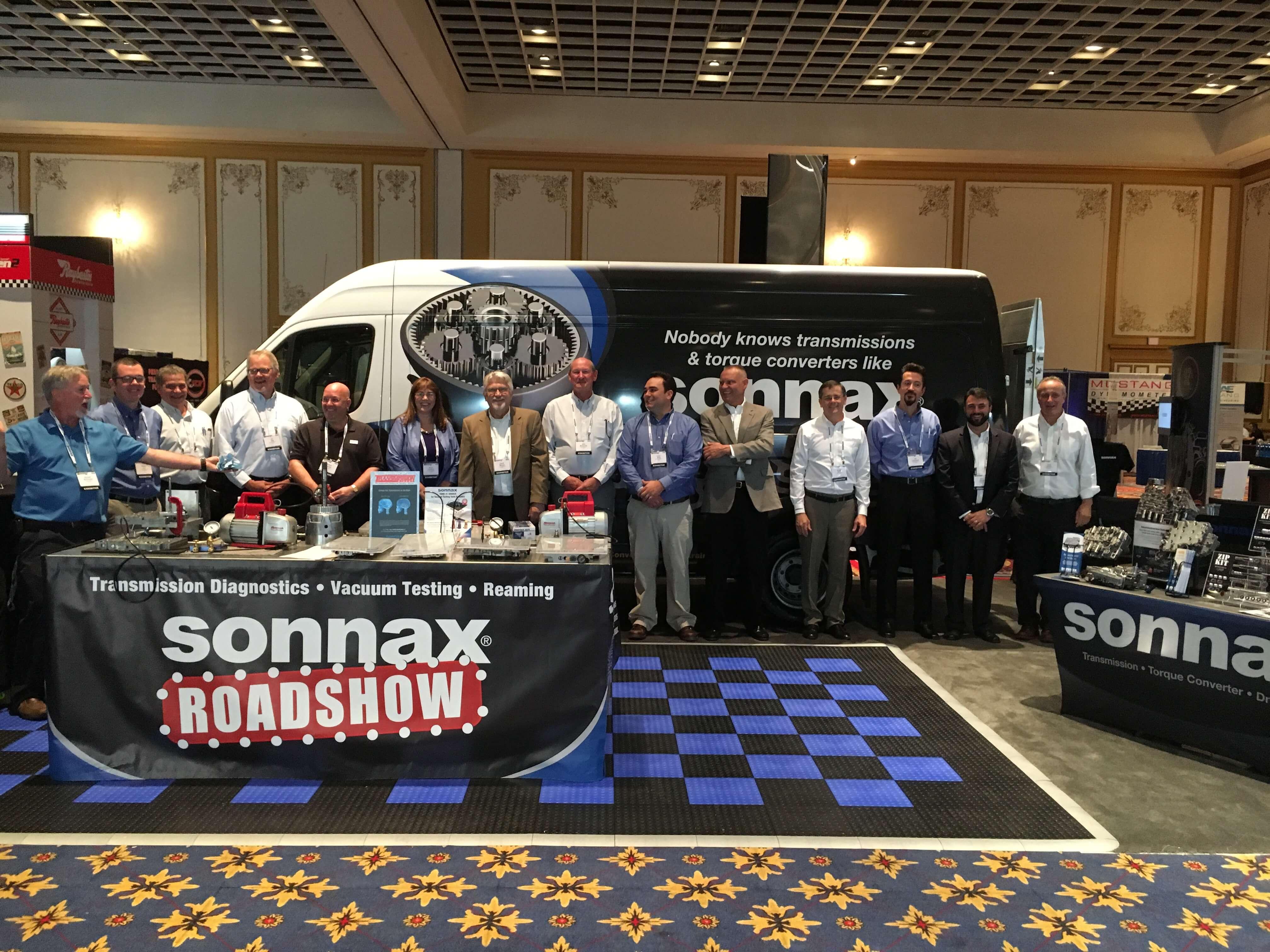Sonnax group photo powertrain expo 2017