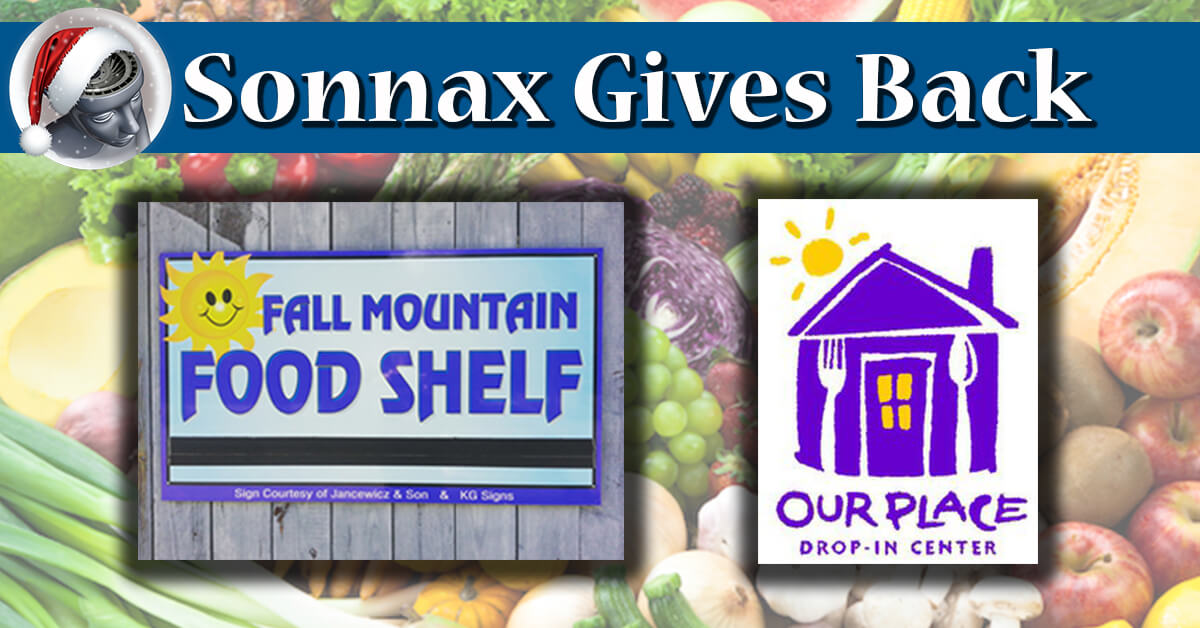 Sonnax gives back dec. 2017